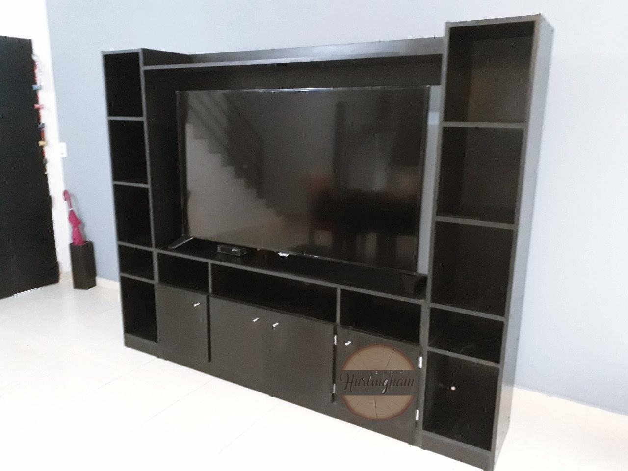 Modular Para Tv Hasta 65 Melamina 18 Mm 3 Modulos